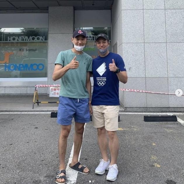 김정환 김용준 / 사진 = 김용준 인스타그램