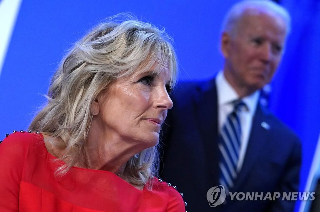 질 바이든 여사, 도쿄올림픽 개회식 참석…첫 단독 외국방문(종합)
