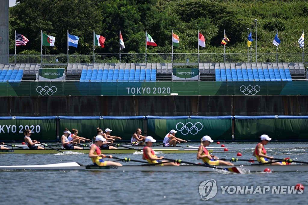 [올림픽] 무관중 탓 '낯선 고요'…사기저하 선수들 고군분투