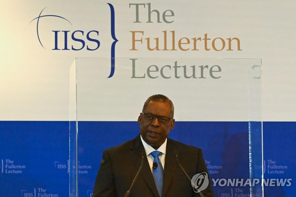 미 국방장관, 대북 실용외교·유엔 대북제재 이행 재확인