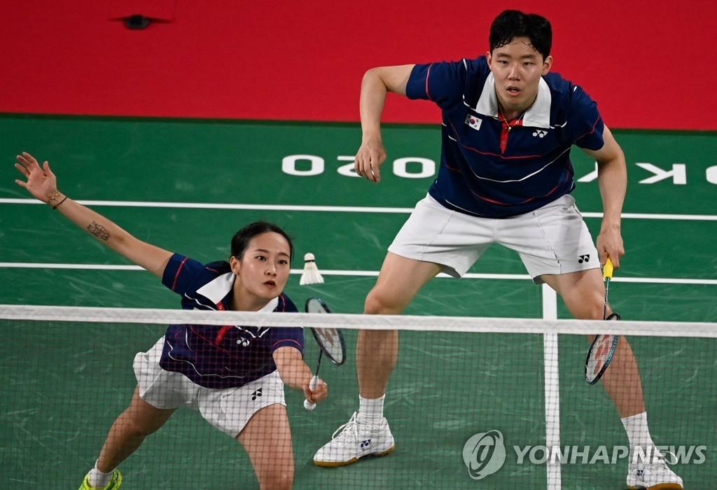 """[올림픽] 혼합복식 서승재·채유정 """"다음 올림픽도 같이 할래?"""""""