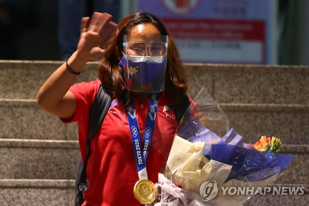 [올림픽] 금메달리스트 출신 도시 환호…미국 세인트 폴 '수니사 리 데이'