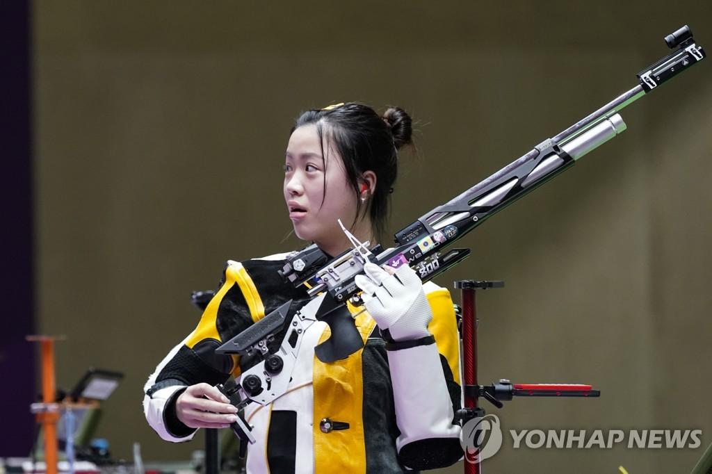 [올림픽] 도쿄 대회 '1호 금메달' 주인공은 중국 명사수 양첸