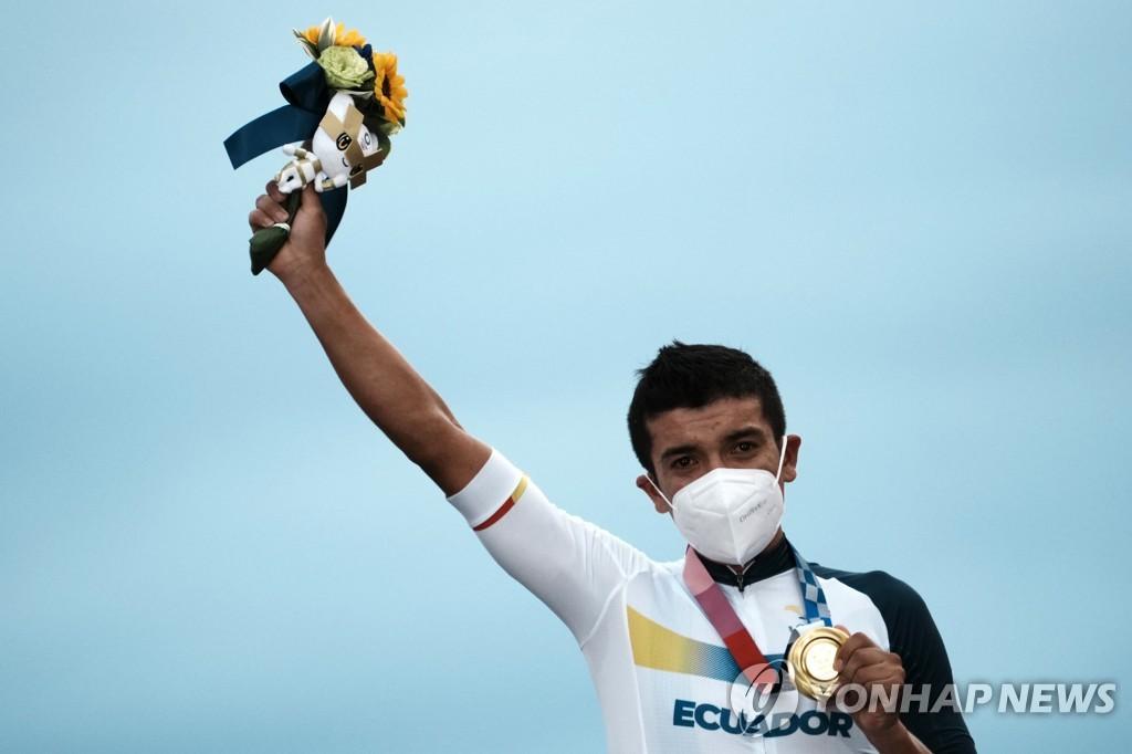-올림픽- 투르드프랑스 3위 카라파스, 남자 개인도로 금메달