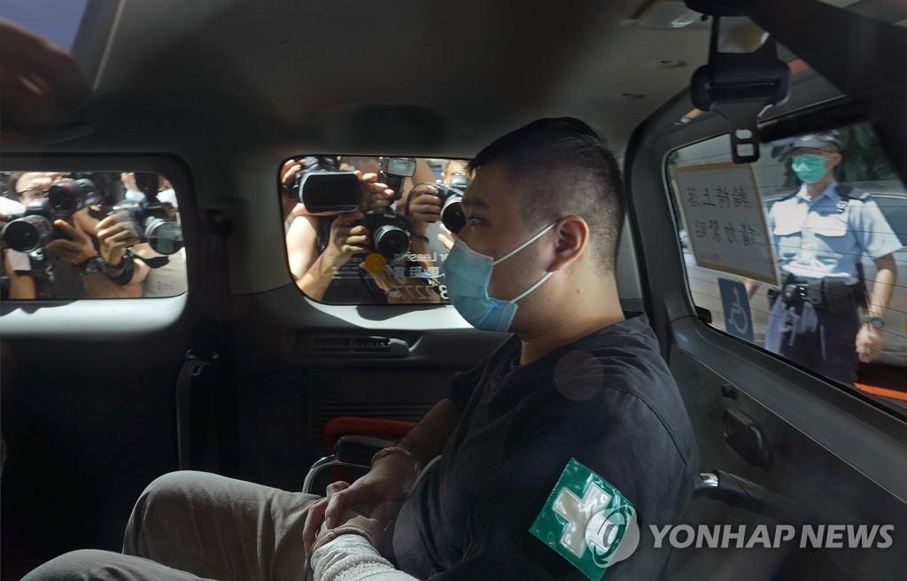 '광복홍콩' 구호로 종신형 위기…홍콩보안법 첫 피고인 유죄선고(종합)