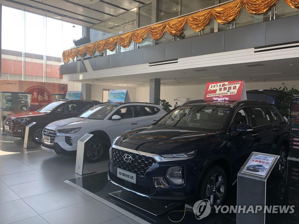 현대차·기아, 중국 상반기 판매량 10.8%↓…부진 여전