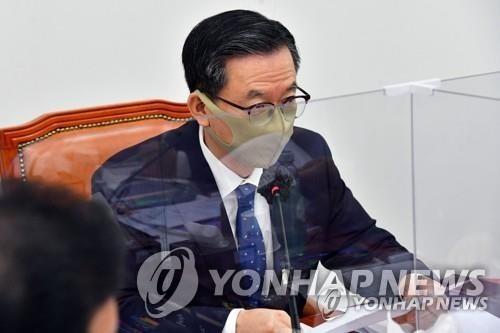 """이상민 """"경선 연기 필요""""…정성호 """"캠프서 논의해보겠다"""""""