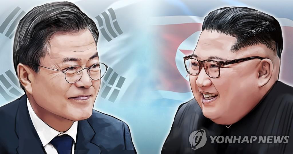 """靑 """"남북정상회담 논의한 바 없다…특사, 코로나 탓 한계""""(종합)"""