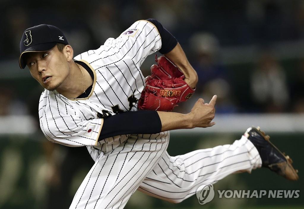 일본 야구대표팀 센가, 3개월 만의 복귀전서 10실점 '뭇매'