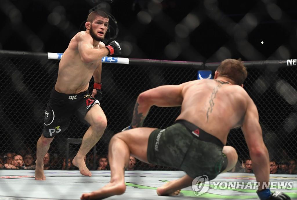 선 넘은 UFC 맥그리거, 고인이 된 하빕 아버지 조롱