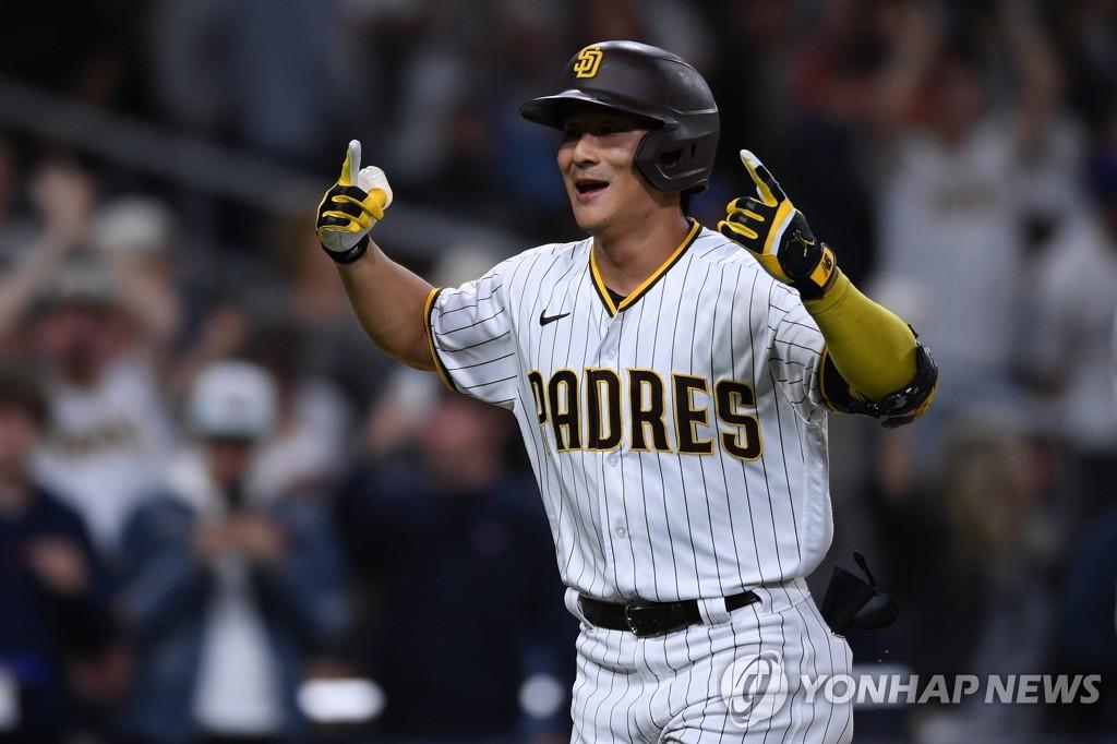 김하성, 3경기 연속 결장…전반기 타율 0.208·5홈런