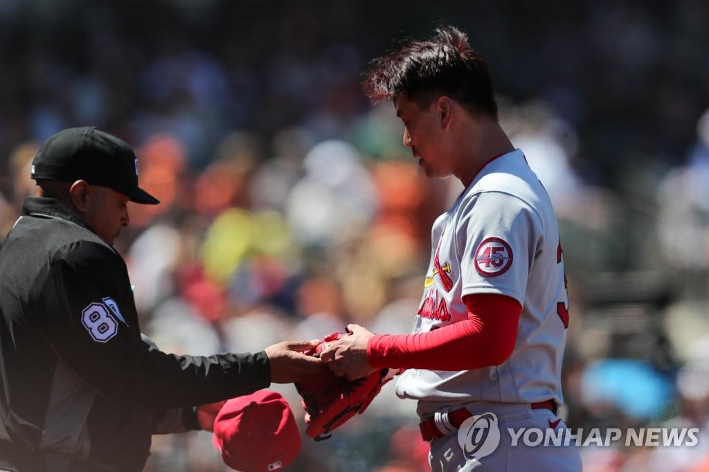 김광현, MLB 전체 승률 1위 샌프란시스코 상대로 7이닝 '인생투'