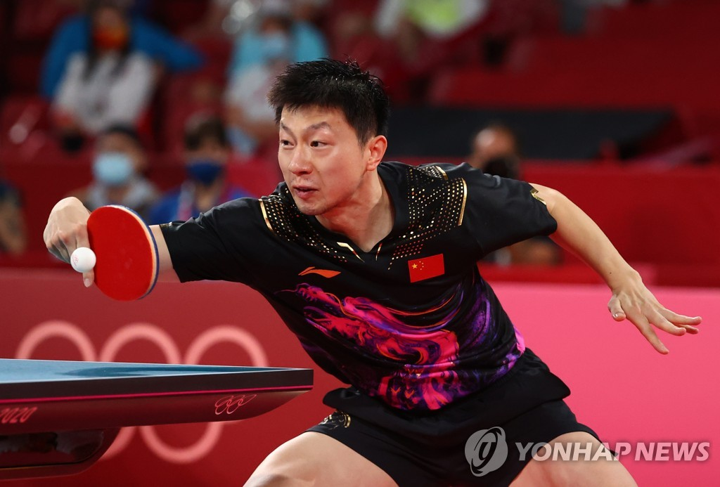 -올림픽- 마룽, 판전둥 꺾고 탁구 남자 단식 2연패 달성…중국 4연패