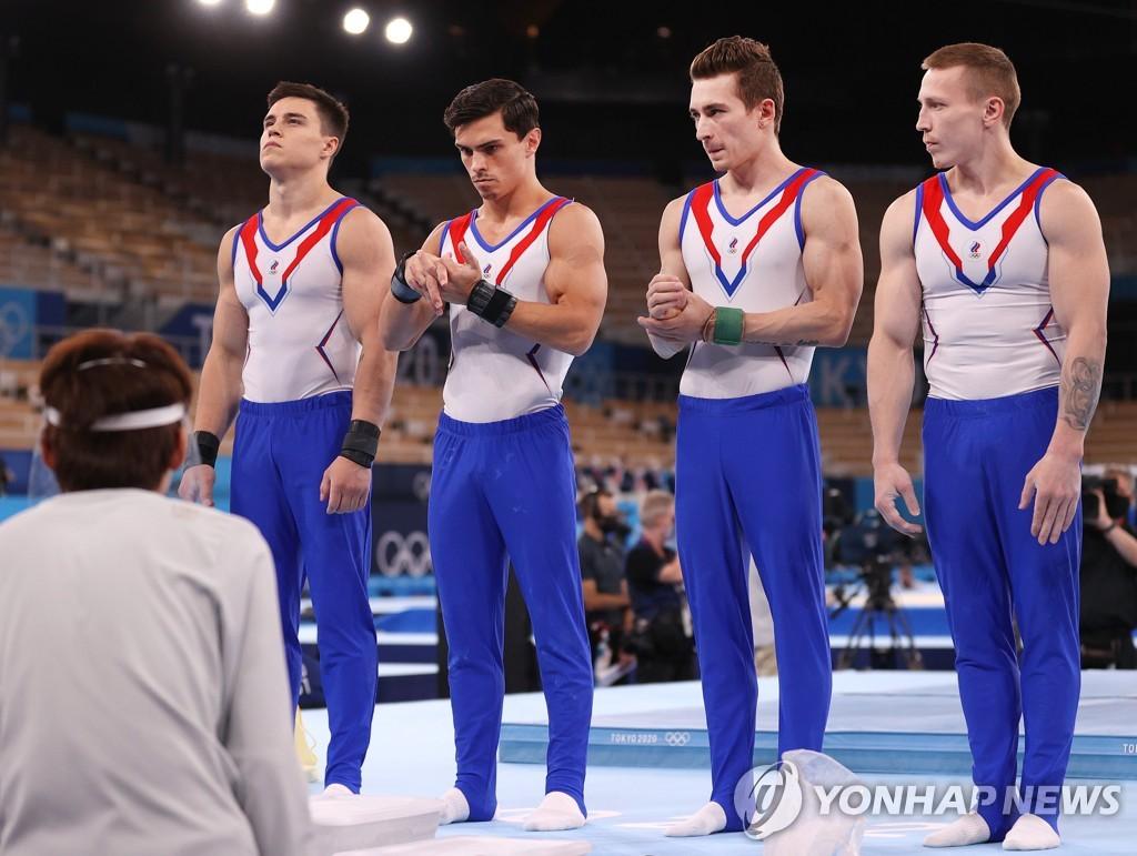 -올림픽- ROC, 기계 체조 남자단체전 25년 만에 정상 탈환