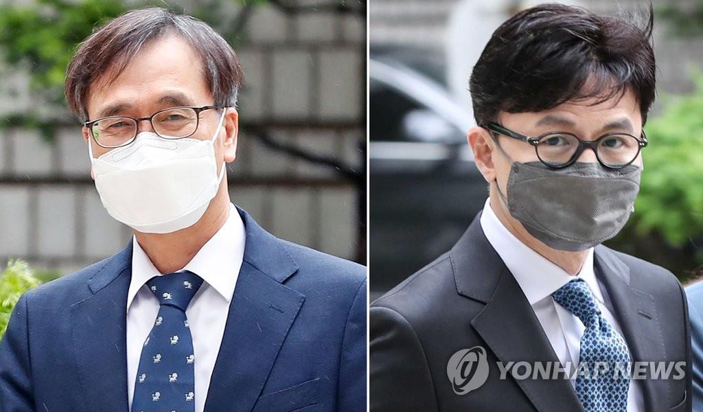 '한동훈 독직폭행' 정진웅, 오늘 1심 마무리