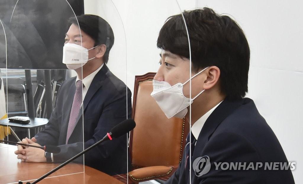 """이준석 """"협상시한 다음주로 못박겠다""""…安에 '최후통첩'"""