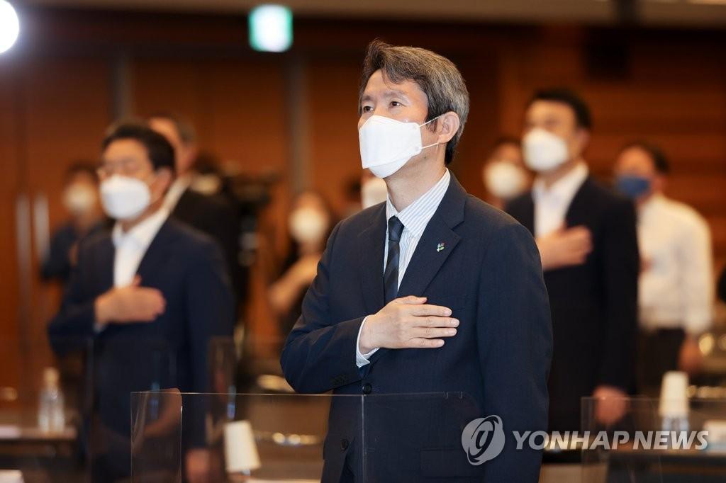 """이인영 """"다시 남북의 시간 시작…섣부른 낙관은 금물"""""""