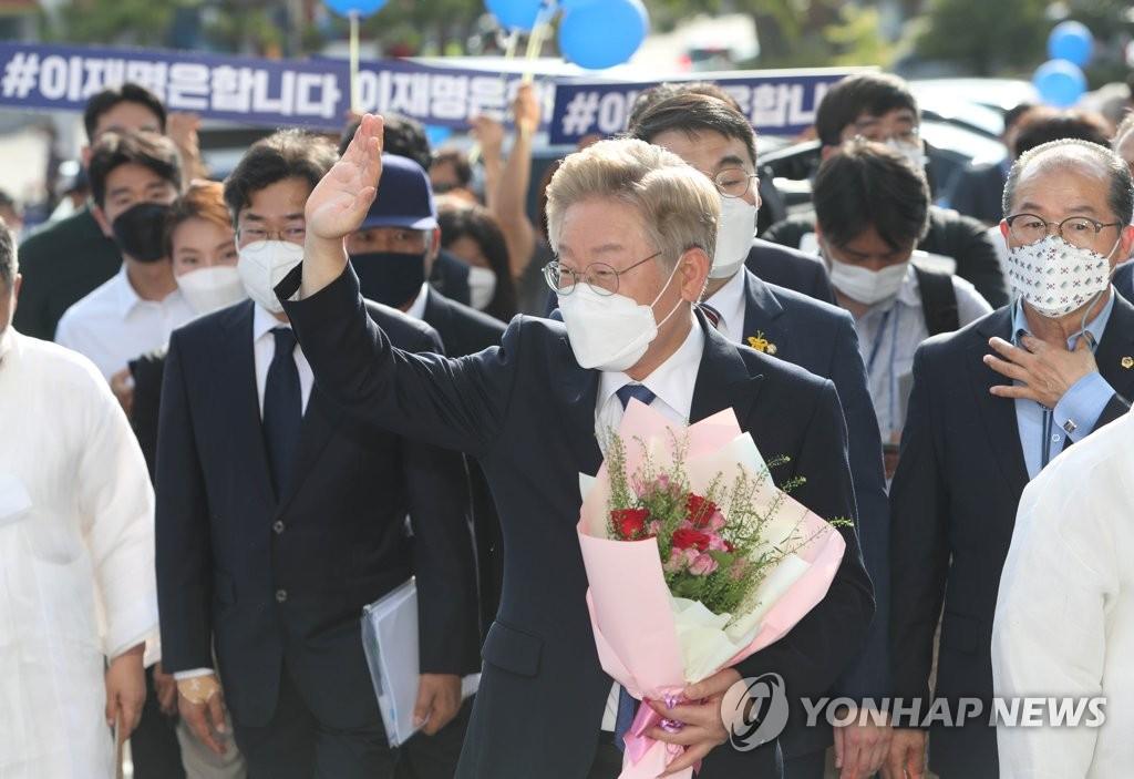이재명, 盧 언급하며 후원 호소…하루만에 모금액 9억 돌파(종합)