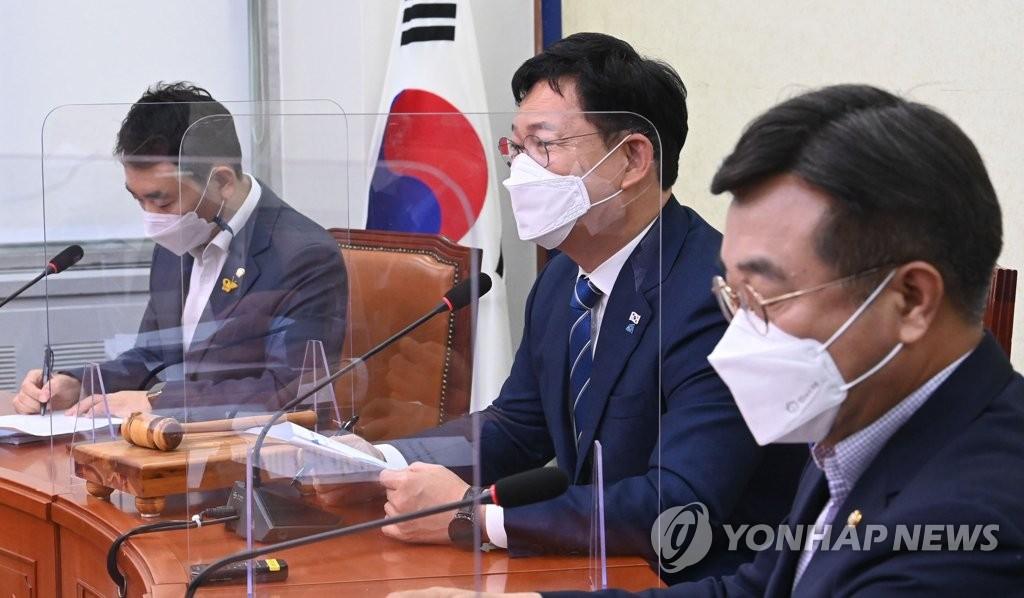 """송영길 """"윤석열은 처가와 경제공동체…스폰서 검사 느낌""""(종합)"""