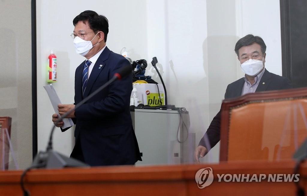 송영길, 관훈토론회 참석…100여분간 현안 질답