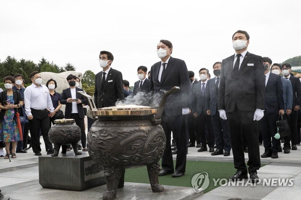 중원 동시 출격…與 대전 간날 尹 '충청 대망론' 띄우기