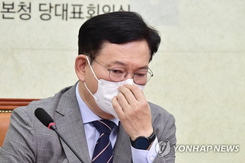 """'친문' 김종민, 송영길 직격 """"비주류 마인드 안돼"""""""