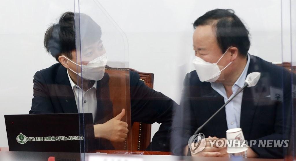 """김재원 """"송영길, 우리 당에 '전국민' 수류탄 던져…못됐다"""""""