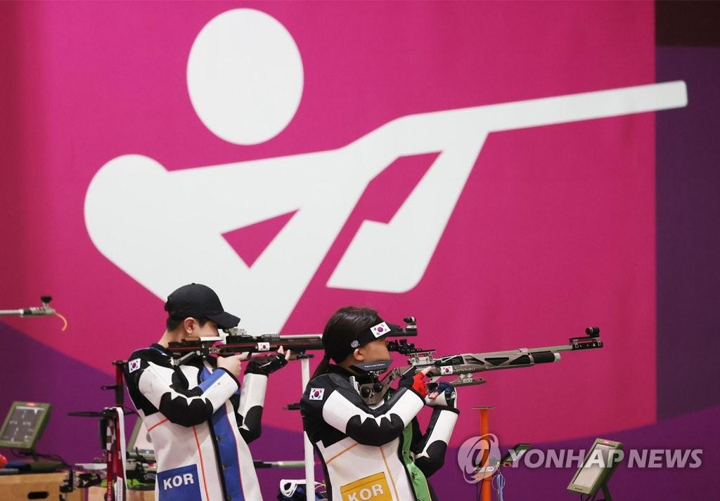 -올림픽- 박희문·권은지, 10m 공기소총 결선행…첫 메달 기대