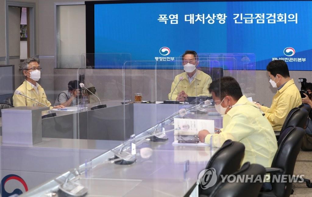 """강원도 '폭염 T/F→재난안전대책본부' 격상…""""취약계층 보호"""""""