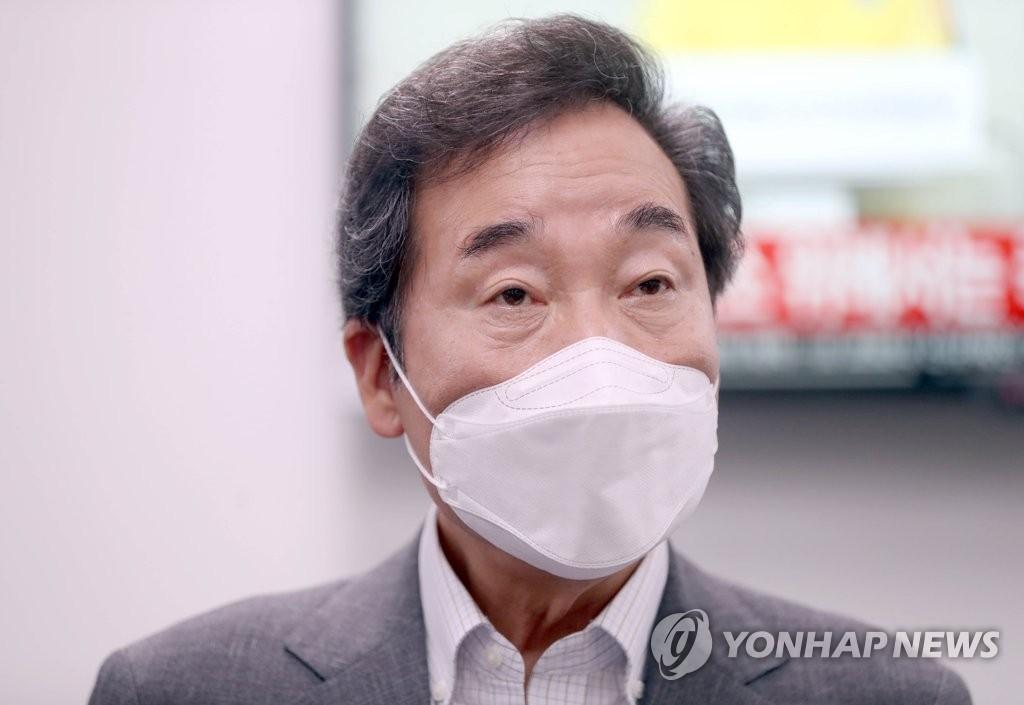 """경남 찾은 이낙연 """"김경수 전 지사 대법 판결 아쉬워"""""""