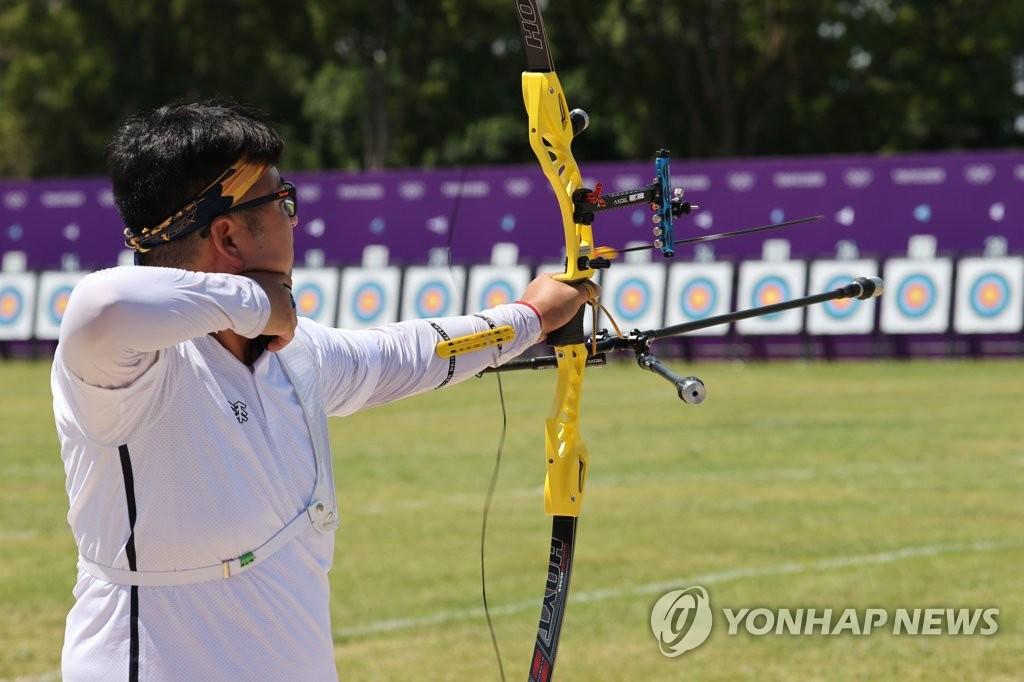 """[올림픽] 양궁장에 '태풍 변수'…""""우린 다 해봤다"""" 반기는 대표팀"""