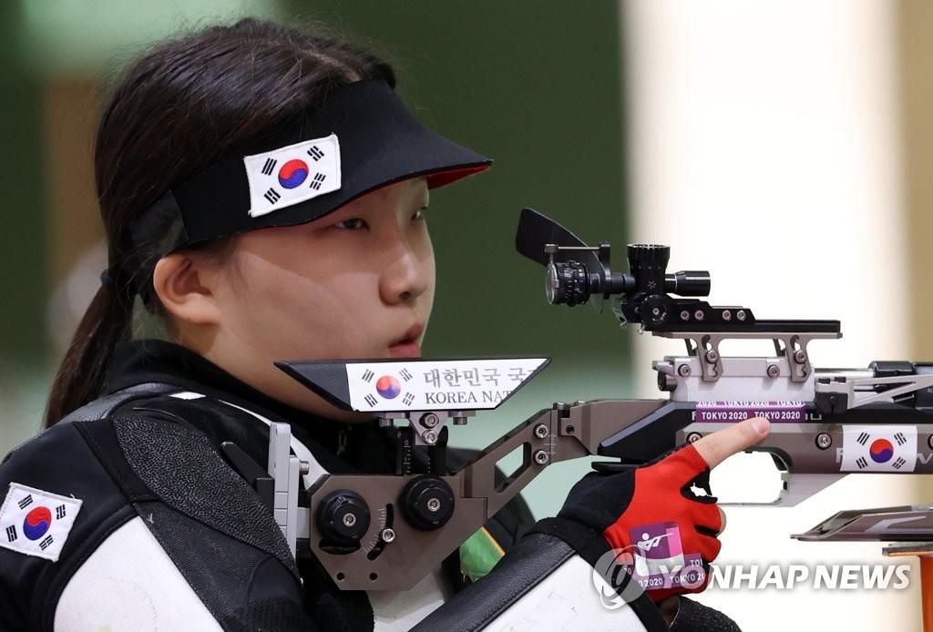 -올림픽- 박희문·권은지, 10m 공기소총 동반 결선행…첫 메달 기대(종합)