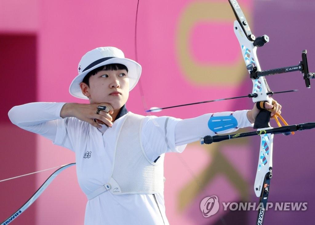 [올림픽] '대회 첫 2관왕' Z세대 신궁 안산은 '집순이 잠공주'