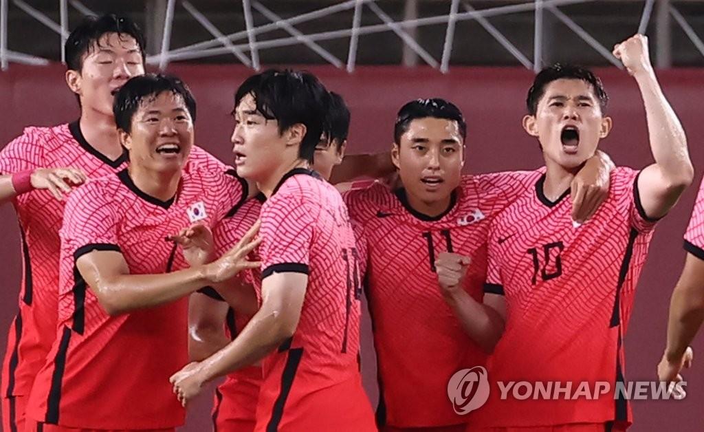 -올림픽- '이강인 멀티골' 김학범호, 루마니아에 4-0 대승…B조 1위로(종합)