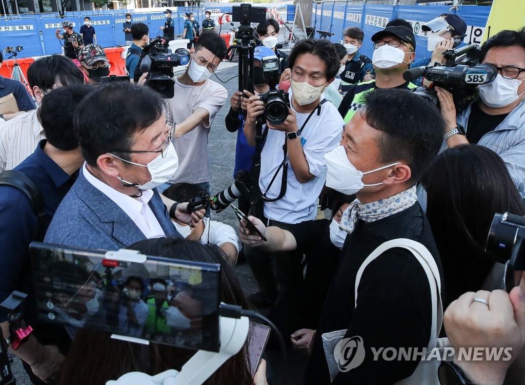 송영길, 오세훈에 세월호 기억공간 보존 촉구