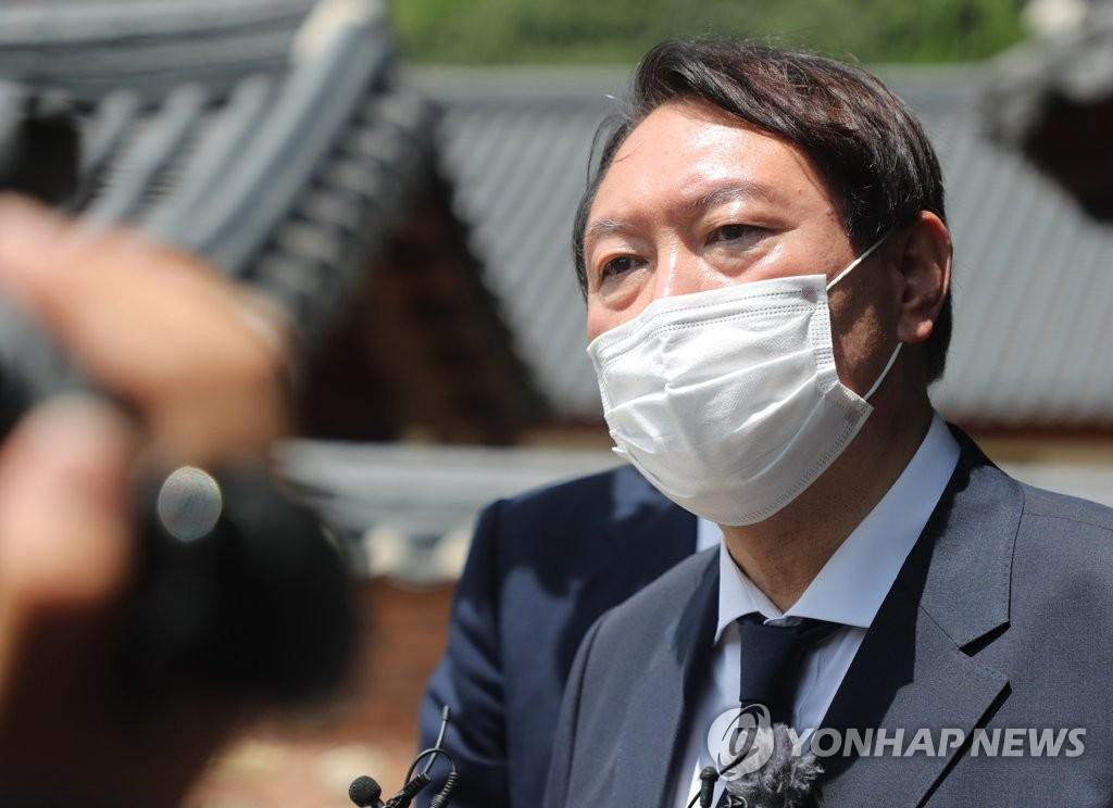 """윤석열 """"독재정권보다 더한 자유 말살""""…나눔의집 사태 맹비난(종합)"""