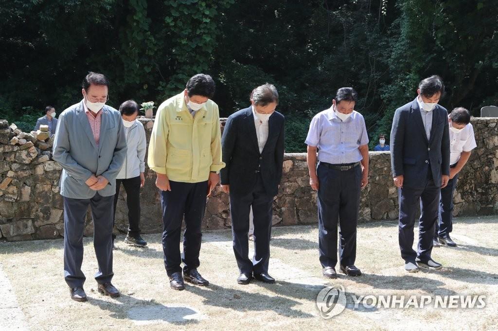 """최재형 """"북한에 끌려다니지 않고 실력과 의지로 평화 지킬 것"""""""