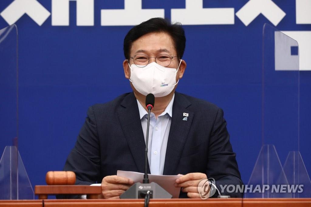 """與, 오세훈 맹공 """"대선 불출마해놓고…정치 말고 방역 챙겨라"""""""
