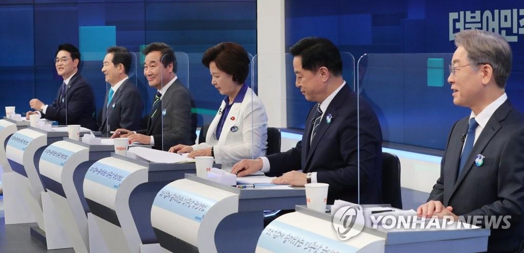 '원팀 협약' 반나절만에…백제·날치기·탄핵, 명-낙 충돌(종합)