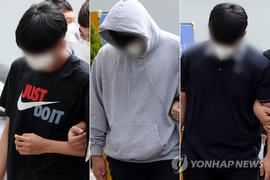 극단선택 광주 고교생 괴롭힌 동급생 3명 영장실질심사 출석
