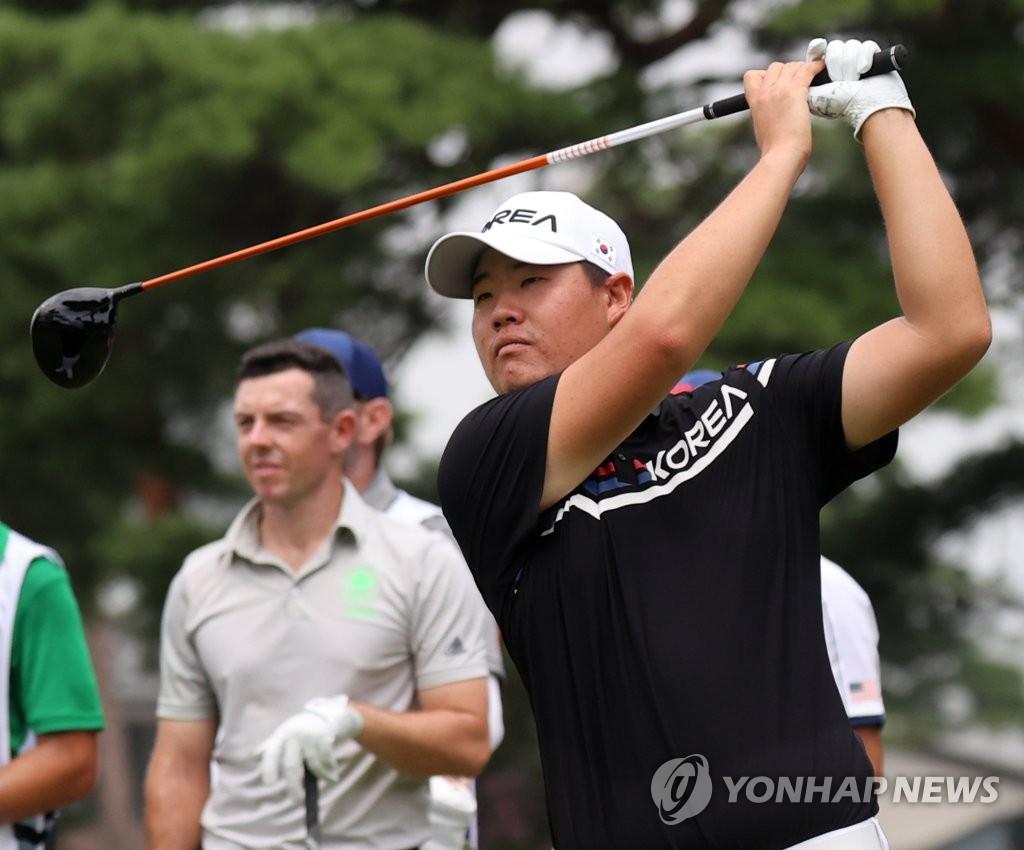 """[올림픽] PGA 투어 활약하는 김시우·임성재도 """"올림픽은 다르네요"""""""
