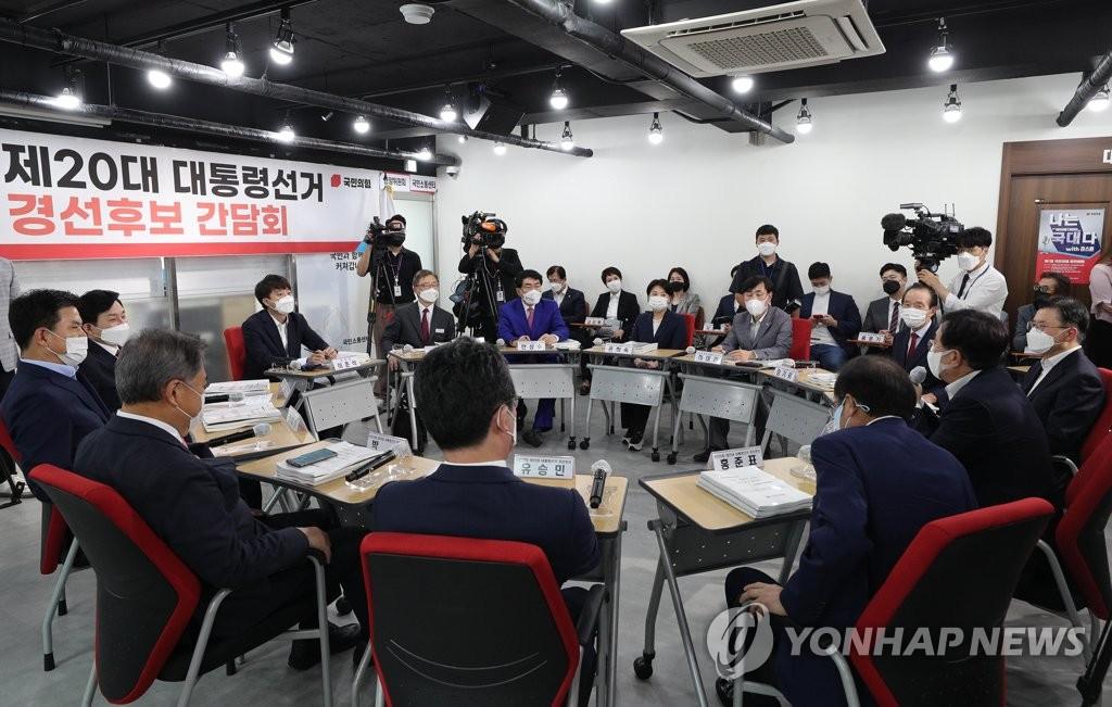 """페어플레이 다짐한 11인의 野잠룡…""""민주 경선과 달라야"""""""