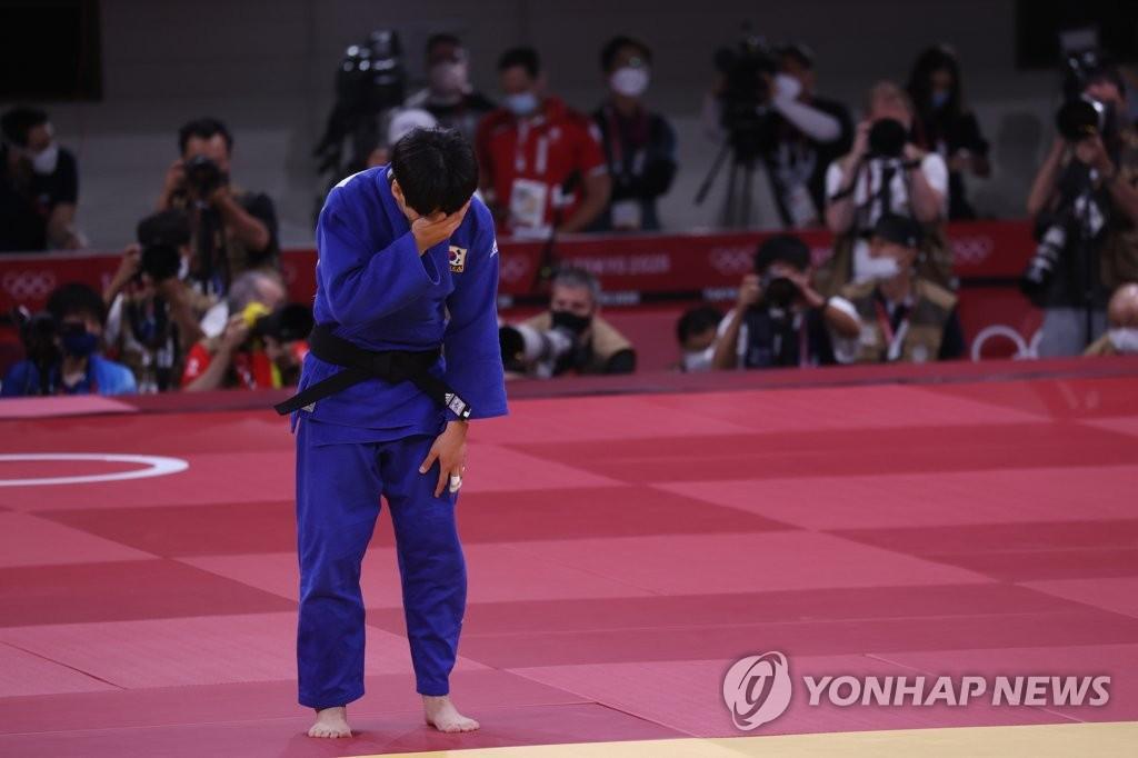 -올림픽- 잘 싸웠다 윤현지…유도 여자 78㎏급 동메달 획득 실패
