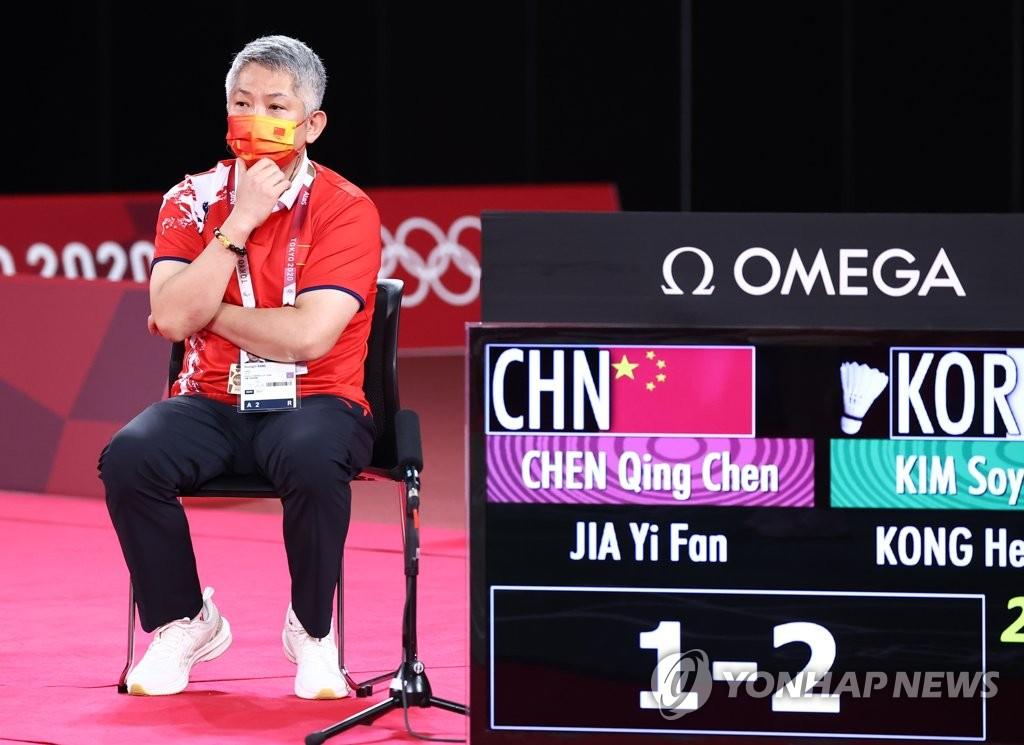 [올림픽] 셔틀콕 지도자 한류의 역풍…강경진 中 코치, 제자들에 비수