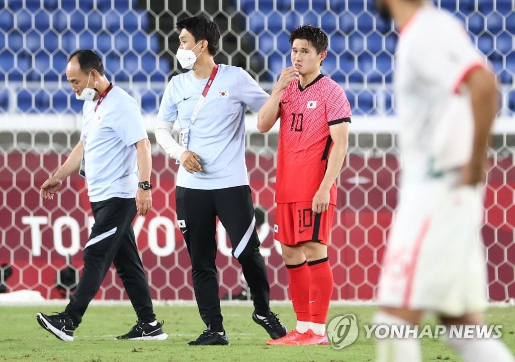 [올림픽] 8강서 끝난 김학범호의 도전…빛바랜 '도쿄리'의 왼발(종합)