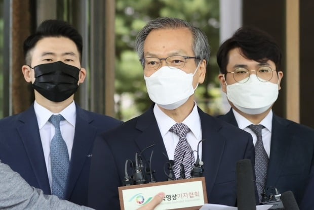 입장 밝히는 허익범 특검 / 사진=연합뉴스