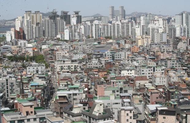 서울 광진구 일대 빌라 밀집지역 전경. /뉴스1