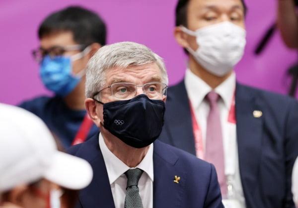 토마스 바흐 국제올림픽위원회 위원장. / 사진=뉴스1