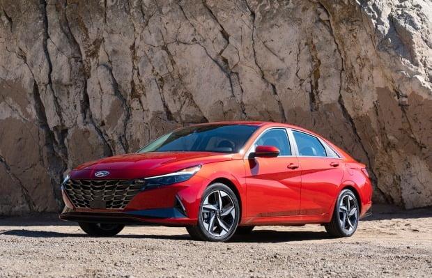 현대차와 기아가 지난달 미국에서 총 13만8599대를 판매했다. 최다 판매 모델은 엘란트라(아반떼)다. 사진=현대차