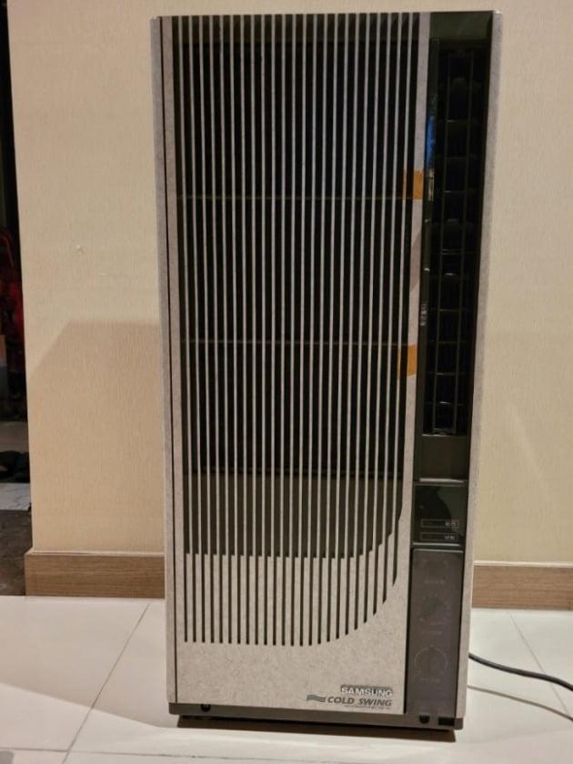 삼성전자 창문형 에어컨. 삼성전자 제공.